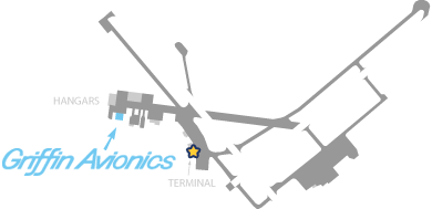 Hyannis Airport map diagram